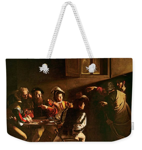 The Calling Of St Matthew Weekender Tote Bag