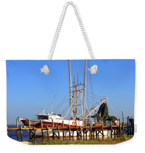 The Captain Hw Weekender Tote Bag