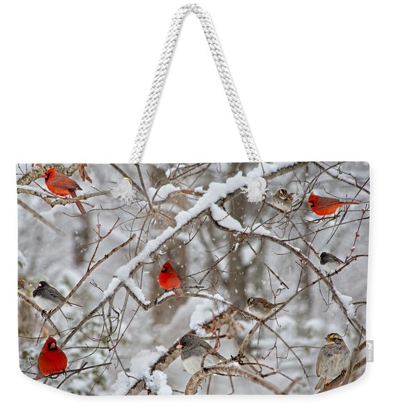 The Cardinal Rules Weekender Tote Bag
