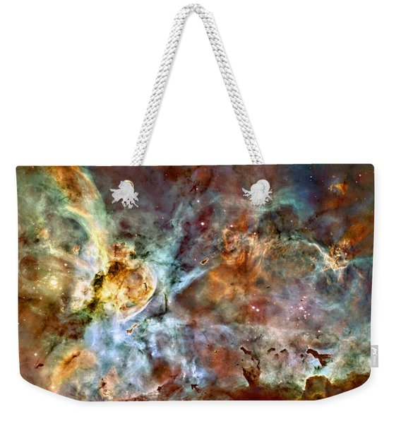 The Carina Nebula Weekender Tote Bag