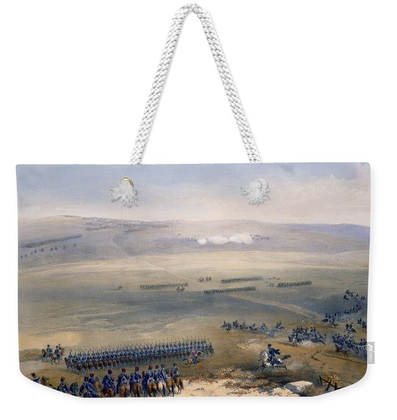 The Cavalry Affair Of The Heights Weekender Tote Bag