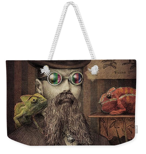 The Chameleon Collector Weekender Tote Bag
