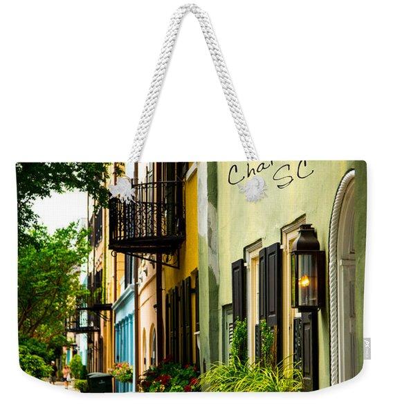 The Charm Of Charleston Weekender Tote Bag