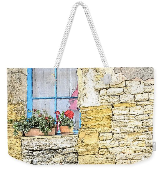 The Charme Of The Old Weekender Tote Bag