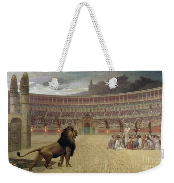 The Christian Martyrs Last Prayer Weekender Tote Bag