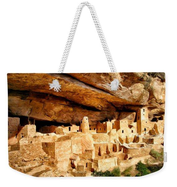 The Cliff Palace At Mesa Verde Weekender Tote Bag