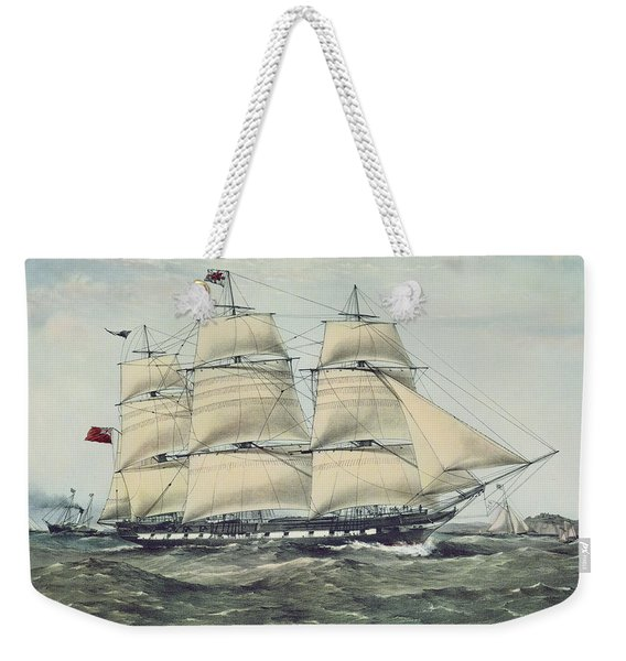 The Clipper Ship Anglesey Weekender Tote Bag