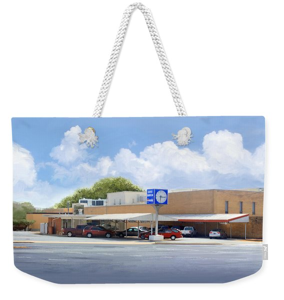 The Clock Drive-in Weekender Tote Bag