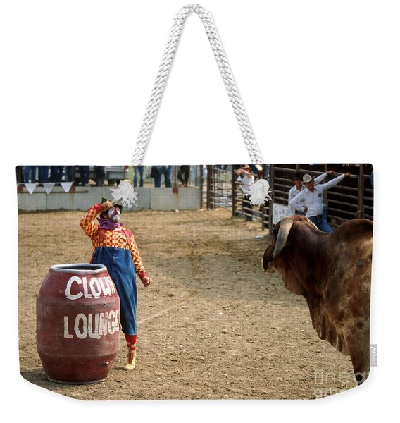 The Clown Weekender Tote Bag