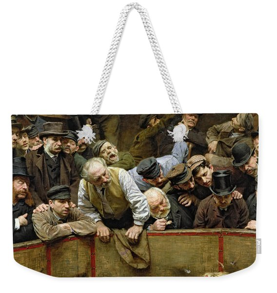 The Cockfight Weekender Tote Bag