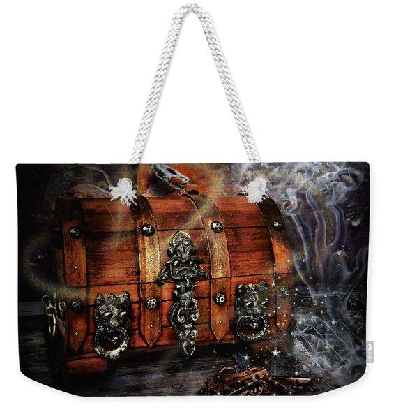 The Coffer Of Spells Weekender Tote Bag