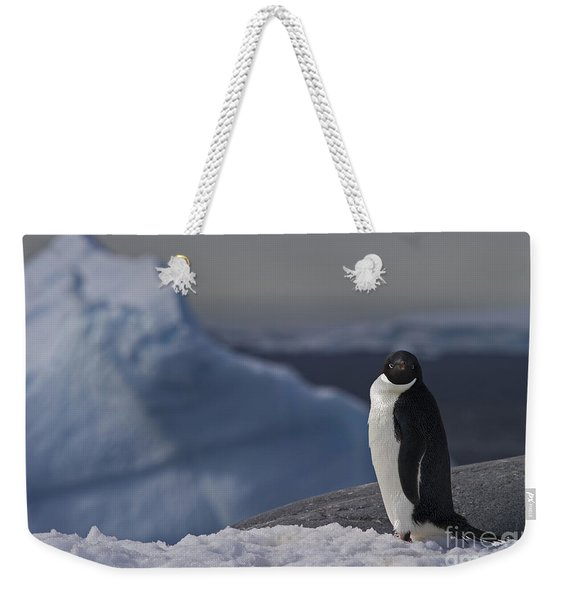 The Coldest Place On Earth... Weekender Tote Bag