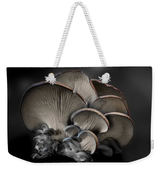 Weekender Tote Bag featuring the photograph Painted Fungus by Wayne King
