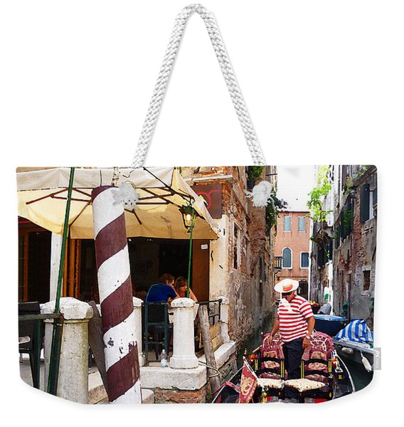 The Colors Of Venice Weekender Tote Bag