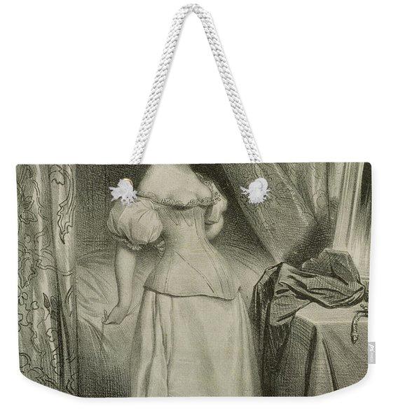 The Corset Weekender Tote Bag