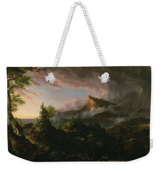 The Course Of Empire The Savage State  Weekender Tote Bag