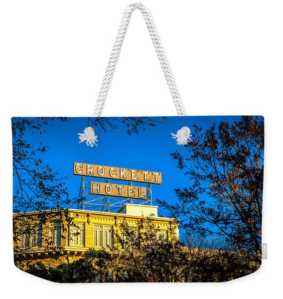 The Crockett Hotel Weekender Tote Bag