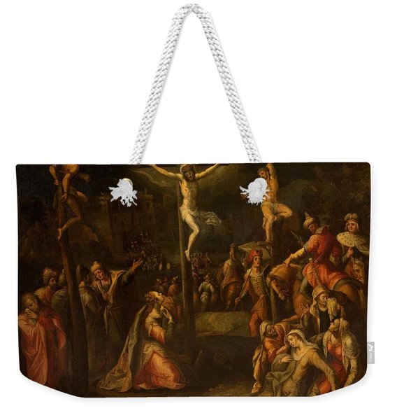 The Crucifixion, 1550?-1700 Weekender Tote Bag