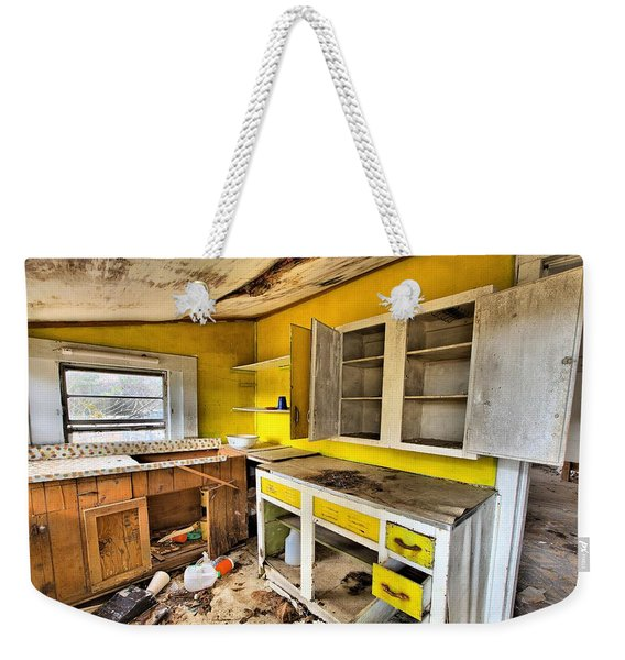 The Cupboard Is Bare Weekender Tote Bag