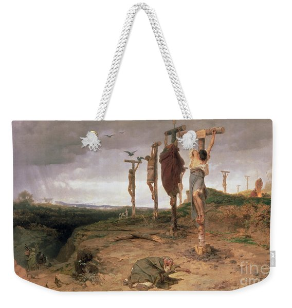 The Damned Field Execution Place In The Roman Empire Weekender Tote Bag