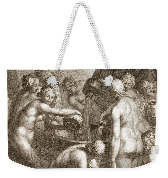 The Danaids Condemned To Fill Bored Weekender Tote Bag
