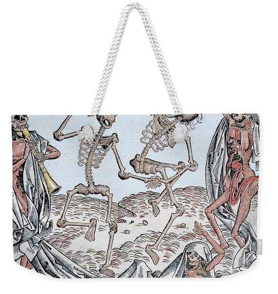 The Dance Of Death Weekender Tote Bag
