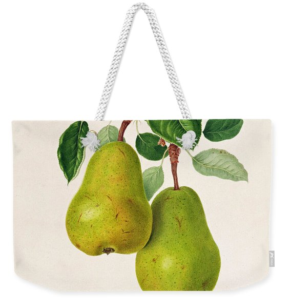The D'auch Pear Weekender Tote Bag