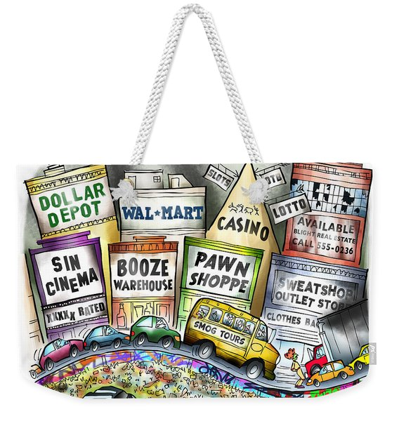 The Delights Of Modern Civilization Weekender Tote Bag