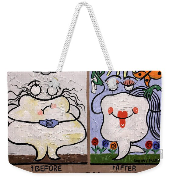 The Dentist Appointment Dental Art By Anthony Falbo Weekender Tote Bag