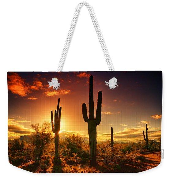 The Desert Awakens  Weekender Tote Bag