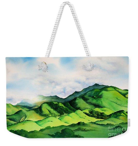 The Devil's Spring Weekender Tote Bag