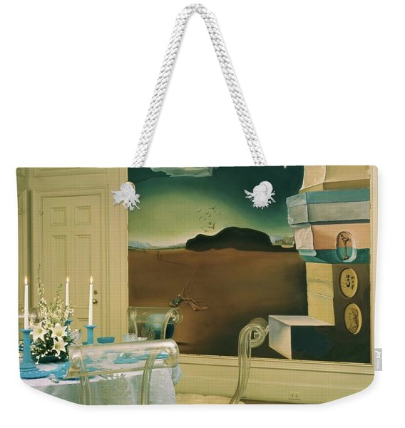 The Dining Room Of Princess Gourielli Weekender Tote Bag