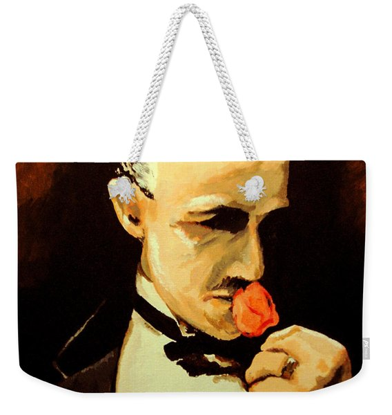 The Don And The Rose Weekender Tote Bag