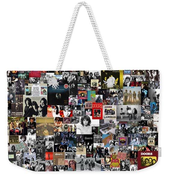 The Doors Collage Weekender Tote Bag
