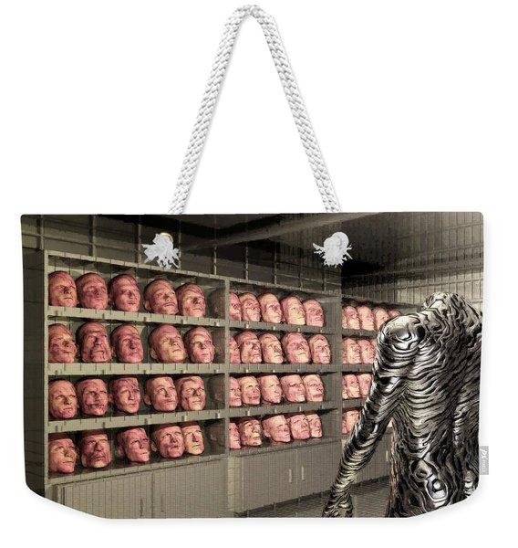 The Doppleganger Weekender Tote Bag