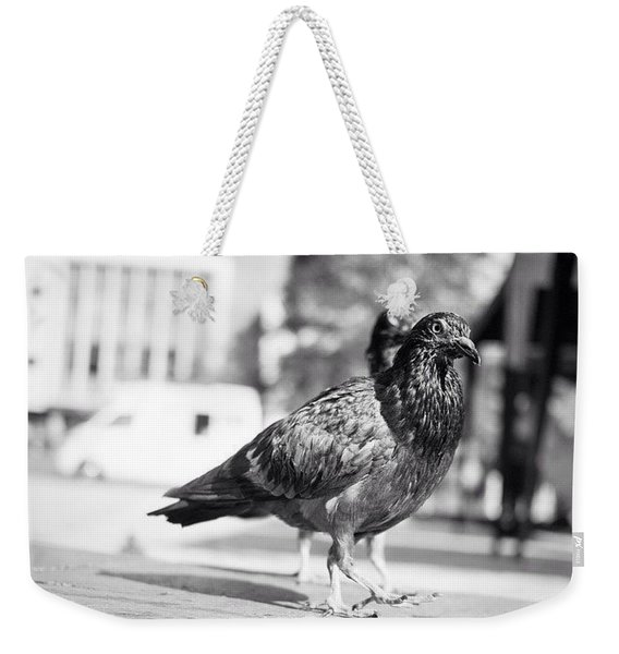 The Dove March (goose Step) Weekender Tote Bag