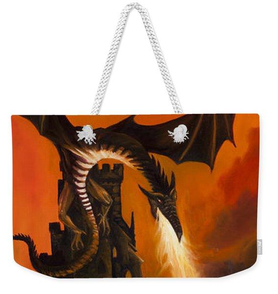 The Dragon's Tower Weekender Tote Bag