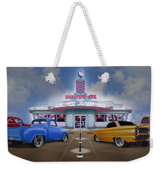 The Drive In Weekender Tote Bag