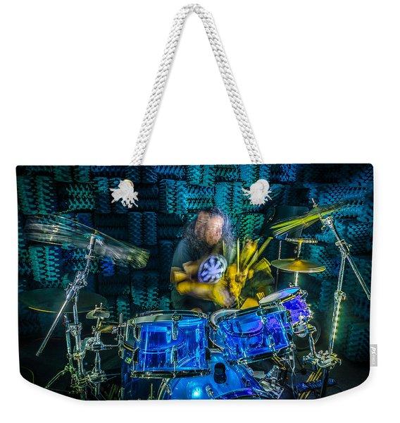 The Drummer Weekender Tote Bag