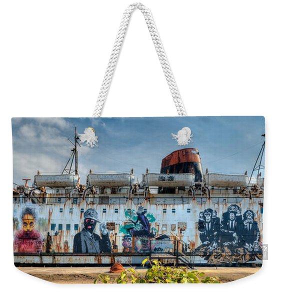 The Duke Of Graffiti Weekender Tote Bag