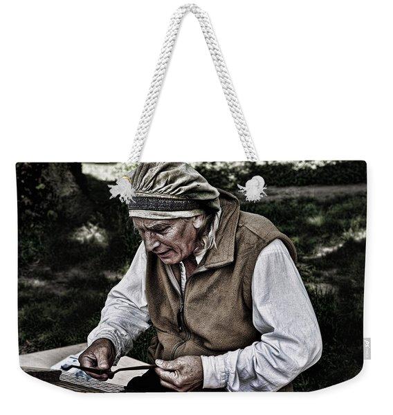 The Dulcimer Man Weekender Tote Bag