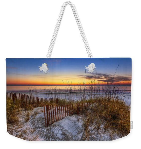 The Dunes At Sunset Weekender Tote Bag