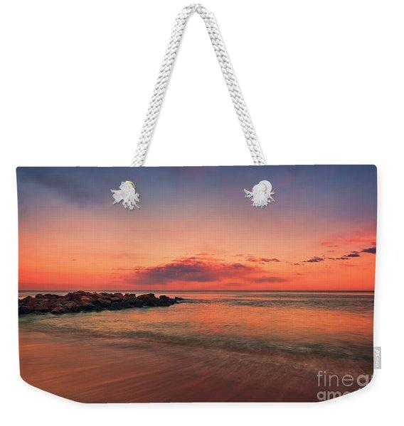 The East Coast Sunset Weekender Tote Bag