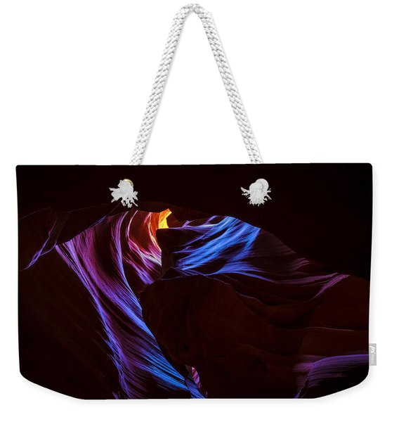 The Edge Of Darkness Weekender Tote Bag
