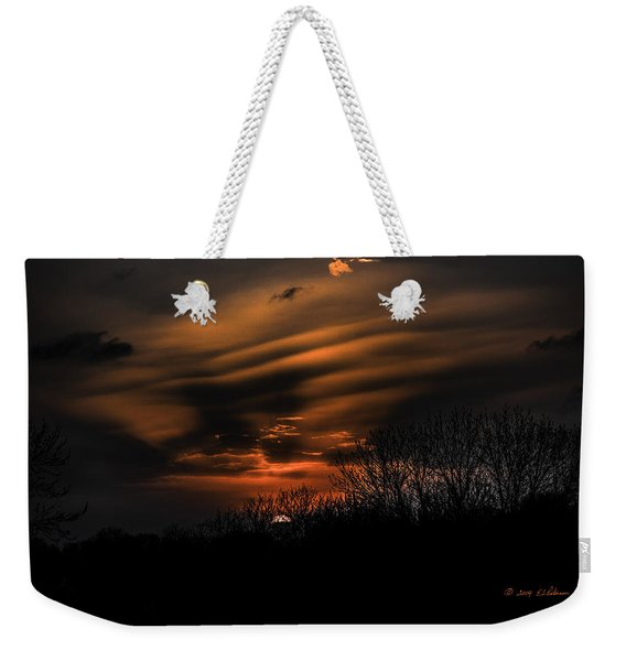 The Edge Of Night Weekender Tote Bag
