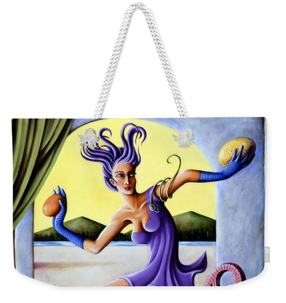The Egg Show Weekender Tote Bag