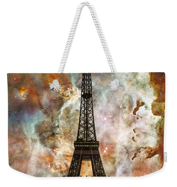 The Eiffel Tower - Paris France Art By Sharon Cummings Weekender Tote Bag