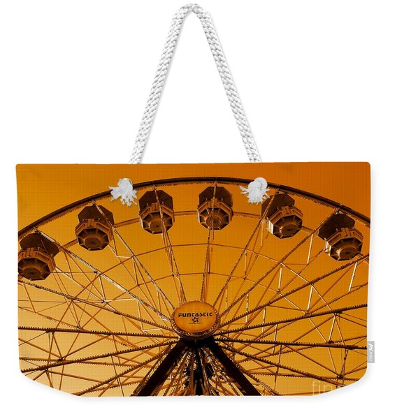 Weekender Tote Bag featuring the photograph The End Of Summer by Patricia Strand