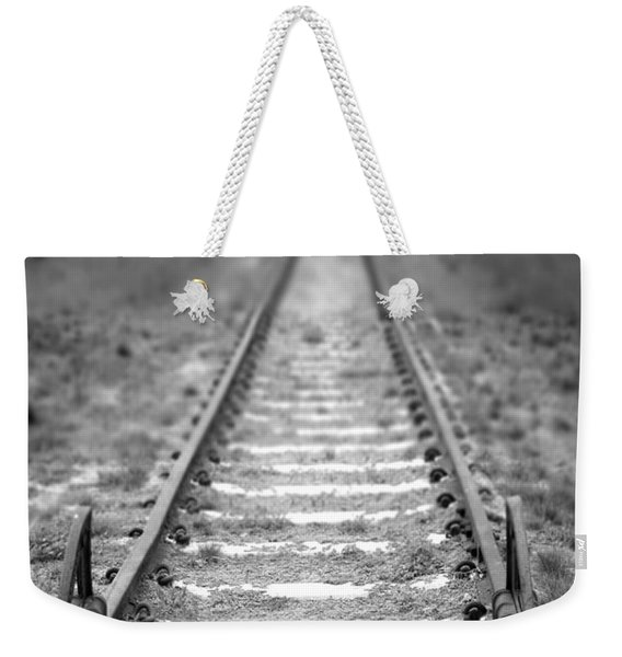 The End Of The Line Weekender Tote Bag