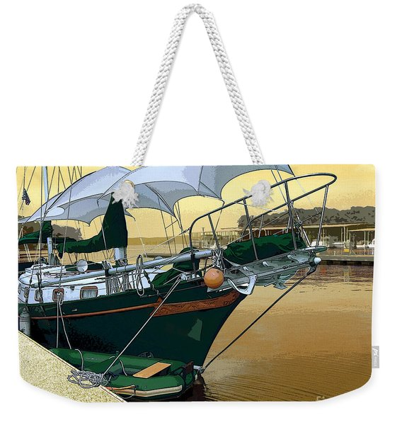 The Enola At Paris Landing Weekender Tote Bag